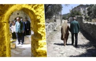 Erdoğan tarihi yerleri ziyaret etti