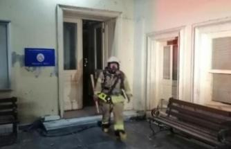 Galatasaray Üniversitesi'nde yangın paniği