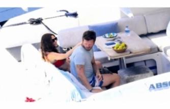 Kıvanç-Başak Tatlıtuğ çifti tatilin tadını çıkarıyor