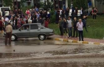 Samsun'da selde bir kişi hayatını kaybetti