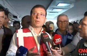 Sel felaketinin ardından Ekrem İmamoğlu'ndan açıklama