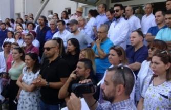 Bursa'da doktora şiddete tepki!