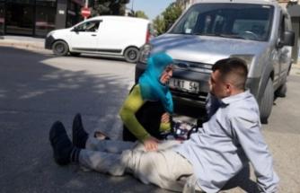 Bursa'da kazada yaralanan genç: Beni bırakın anneme müdahale edin