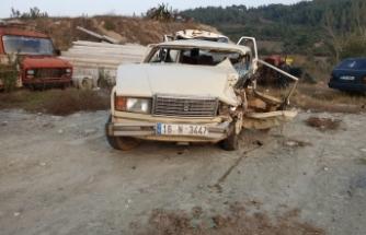 Bursa'da iki otomobil kafa kafaya çarpıştı: 1 ölü