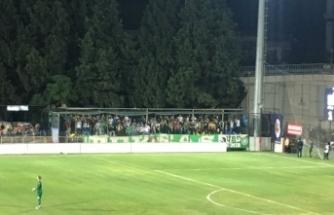 Bursaspor'a ayrılan tribün UEFA'ya şikayet edildi