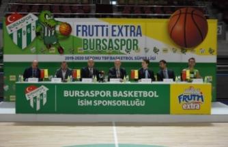 Bursaspor Basketbol takımı Frutti Extra Bursaspor oldu