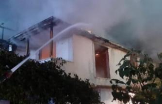 Kayınpeder dehşeti! Bu kez evi ateşe verdi