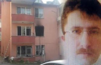 O baba evi ateşe verdikten sonra kızını öldürüp, intihar etmiş!