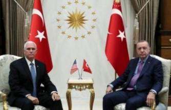 Pence: ABD ve Türkiye Suriye'de ateşkes için anlaştı