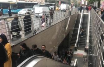 Şişli-Mecidiyeköy metro istasyonunda intihar
