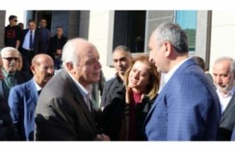 Bakan Gül'den ölen mühendisin ailesine taziye ziyareti