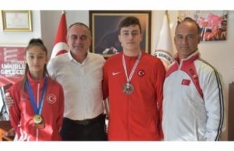 Başkan Sertaslan'dan şampiyonlara tebrik