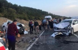Bursa'da feci kazada can pazarı!