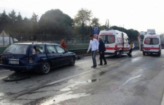 Bursa'da zincirleme kaza! Yaralılar var