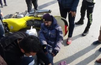 Bursa'da kargo dağıtımına çıkan PTT çalışanı ölümden döndü