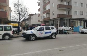 Bursa'da kovalamaca sonucu motosikletini geri aldı