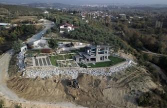 Bursa'daki o  villa yıkıldı