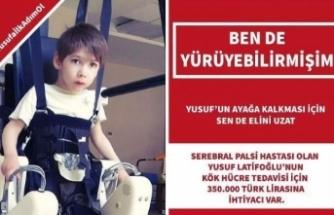 'Haydi Bursa Yusuf'a ümit ol'