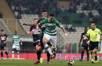 Bursaspor: 0 - Balıkesirspor: 0