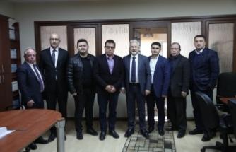 Başkan Erdem'den Beşevler Sanayi Sitesi ve NİLTİM'e ziyaret