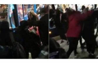 Başörtülü kız çocuğuna saldıran çifte gözaltı!
