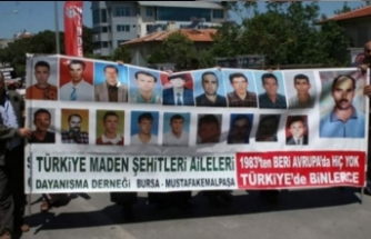 Bursa'da 'Bük Köy maden faciası' unutulmadı