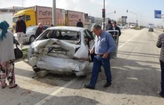 Bursa-Ankara yolunda zincirleme kaza