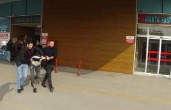 Bursa'da kovalamaca! İnşaat işçileri yakaladı