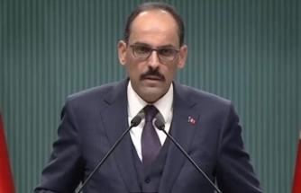 Cumhurbaşkanlığı Sözcüsü Kalın'dan 'çakarlı araç' açıklaması
