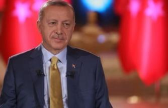 """Erdoğan'dan """"En beğendiğiniz lider kim?"""" sorusuna yanıt"""