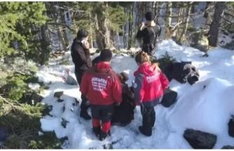 Uludağ'da kaybolan 2 dağcıyı arama çalışmaları sürüyor!