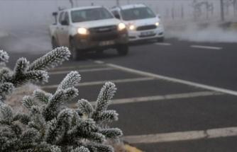 Meteoroloji'den son dakika uyarısı: Buzlanma ve don!