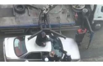 Polislere engel olmak için her yolu denedi!