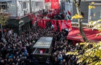 Şehit Üstçavuş Esma Çevik'e son görev