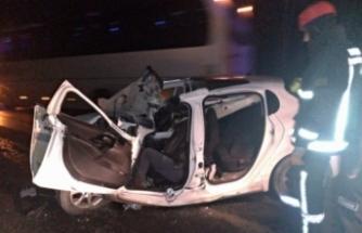 Bursa'da feci kaza! Korkunç şekilde can verdi!