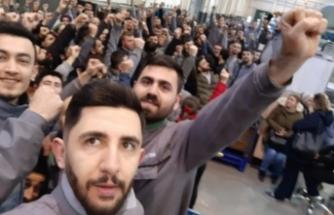 Bursa'daki otomotiv yan sanayi fabrikasında çalışan işçiler ayaklandı!