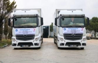 Bursa Marmarabirlik'ten deprem bölgesine  yardım