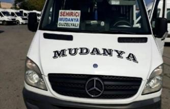 Bursa - Mudanya minibüslerinin güzergahı değişti