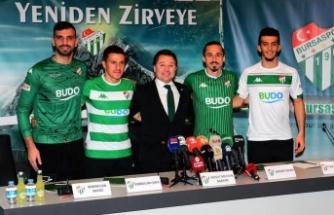 Bursaspor'da dörtlü imza