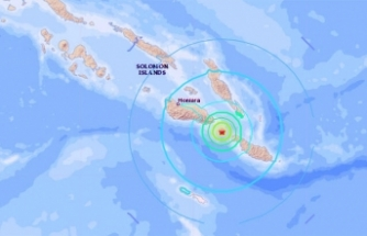 Dev fay hattında 6.3 büyüklüğünde deprem
