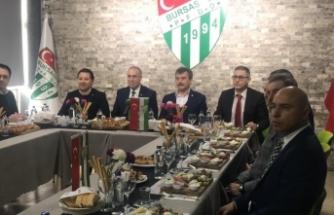 Eski futbolculardan Bursaspor'a destek