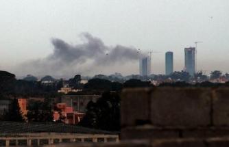 Hafter milisleri Trablus'un dünyaya açılan kapısı Mitiga Havalimanı'nı vurdu