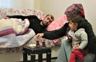 Hastalığı nedeniyle çalışamayan baba yardım istiyor