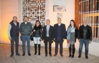 İnternet Gazetecileri Federasyonu kurucu başkanları Bursa'ya hayran kaldı