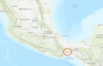 Meksika'da deprem fırtınası