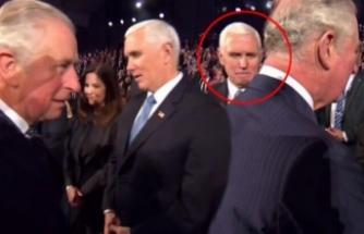 Mike Pence'in elini sıkmadı...