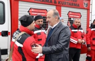Mudanya Arama Kurtarma Bursa'ya döndü