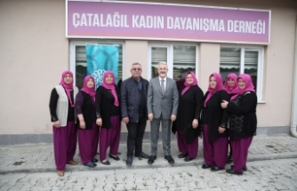 Başkan Erdem kadınların dayanışmasına ortak oldu