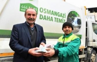 Bursa'da insanlık ölmemiş dedirten davranış!