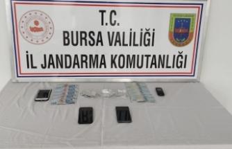 Bursa'da jandarmadan kaçamadılar